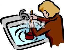 Kitchen Sink Garbage Disposal Clogged by Quick Methods To Unclog Your Sinks Garbage Disposal Infobarrel