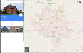 Map Of Missoula Montana by Get Out Of Google Maps