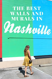 Wall Mural Shining Through The A Work Of Street Art The Best Murals In Nashville Camels