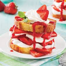 aux fraises cuisine shortcake aux fraises express recettes cuisine et nutrition