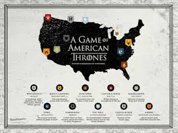 us map of thrones here s what of thrones map would look like if it was based
