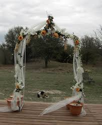 wedding arches using tulle wedding arch decoration ideas
