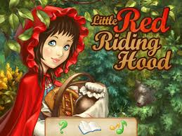 red riding hood interactive storybook ipad digital