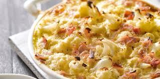 cuisine chou gratin de chou fleur au jambon et au reblochon facile et pas cher
