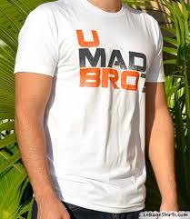 You Mad Bro Meme - u mad bro meme t shirt le rage shirts