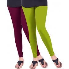 light purple leggings women s buy lux lyra women s purple light green leggings online looksgud in