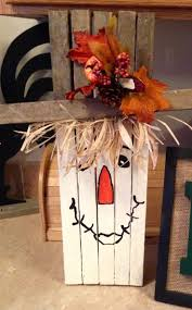 thanksgiving handmade tobacco stick scarecrow crafts 2014 yard