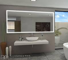 Lighted Bathroom Mirror by Lighted Mirror Galaxy 85 X 40 In U2013 Ib Mirror