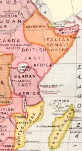 Kenya Africa Map by