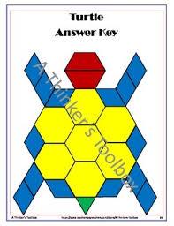 pattern blocks math activities pattern blocks animal puzzles pattern blocks toolbox and math