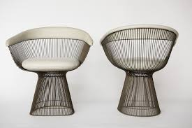 Warren Platner Chair Warren Platner Set Of 6 Bronze Dining Chairs Usa 1960s Todd