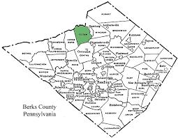 map of berks county pa tilden township berks county pennsylvania