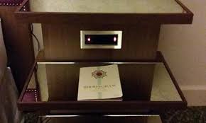 nightstand l with usb port awesome best 25 nightstand with charging station ideas on pinterest