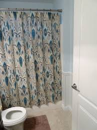 Frilly Shower Curtains Light Teal Shower Curtain