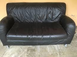 canapé et pouf assorti achetez canapé cuir 2 places occasion annonce vente à marseille 13