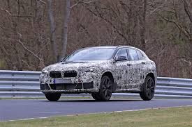 2018 bmw x2 spied flying on the nurburgring autoevolution