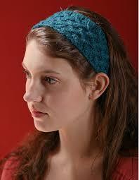 knit headband lattice cable headband pattern knitting patterns and crochet