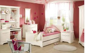 enchanting cute kids room design with white wooden study desk idolza