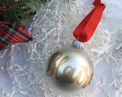 glass ornament etsy