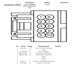 gentex rear view mirror wiring diagram gentex wiring diagrams