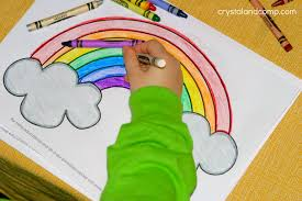 kid color pages st patrick u0027s
