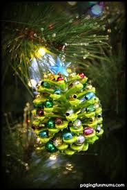 Christmas Ornaments Crafts To Make by Natural Ornaments For Kids To Make