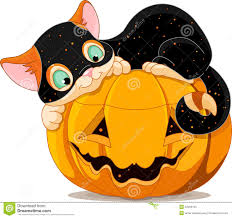 halloween kitten stock photos image 34260793