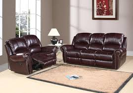 Abbyson Living Leather Sofa 15 Leather Reclining Sofa And Loveseat Set Carehouse Info