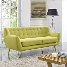 Orange Sofa Bed by Driedric Sofa Multiple Colors Mid Century Modern Designer