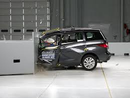 mazda5 2014 mazda 5 driver side small overlap iihs crash test youtube