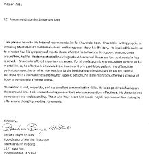 best ideas of letter of recommendation template nursing student in