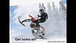 motocross snow bike timbersled mountain horse snow bike conversion kit snowbike