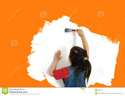 painting a wall painting a wall stock image image of beautiful brush 808047