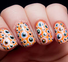 55 latest halloween nail art designs