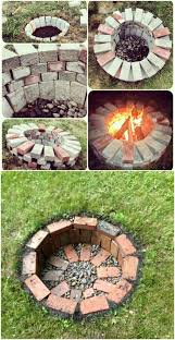 Firepit Bricks 30 Brilliantly Easy Diy Pits To Enhance Your Outdoors Diy