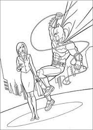 Batman Jumping Building Batman Coloring Pages
