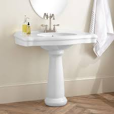 bathroom sink top pedestal sinks bathroom home design very nice