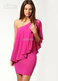 fitted dresses in stock tight fitted one shoulder dress for women mini
