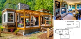 small bungalow cottage house plans tiny cottages tiny luxury tiny cottage with rooftop terrace home design garden