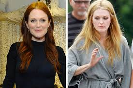 julie ann moore s hair color julianne moore goes blonde actress changes hair color for new