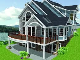 Basement Lake House Plans Walkout Basement