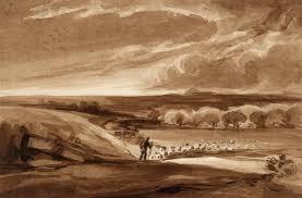 david cox landscape with flock of sheep u0027 david cox tate