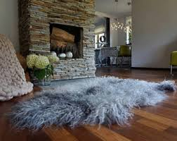 Luxury Rug Grey Area Rug Etsy