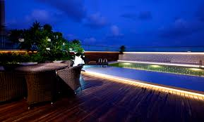 outdoor pool deck lighting lighting ideas for deck lighting cheerful outdoor patio looking