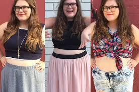 Plus Size Cropped Cardigan I Wore Crop Tops For A Week As A Plus Size Woman And This Is What