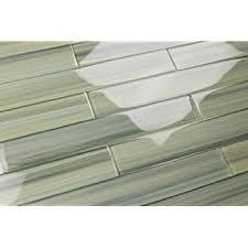 subway glass tile backsplash light green blue gray glass tile wintermoss subway glass tile for