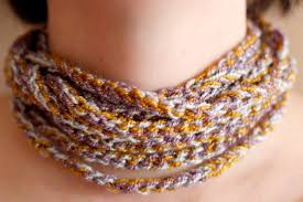 crochet necklace images Crochet a day chain stitch necklace make and takes jpg
