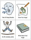 anger worksheets therapist aid