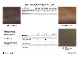 Flexsteel Dylan Sofa Flexsteel Latitudes 1127 Dylan Conversation Sofa