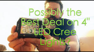 possibly the best deal on led lights lightfox 18w 4 led cree